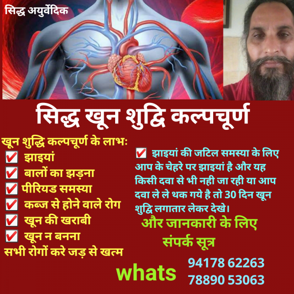 ayurvedic blood purifier medicine